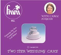 fmm two tier wedding cake dvd