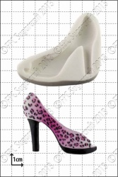 fashion shoe 3 silicone mould 1kpx