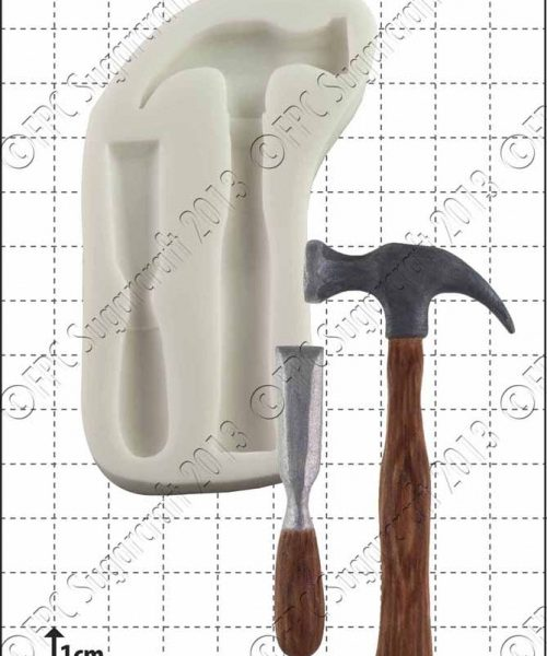 hammer & chisel silicone mould 1kpx