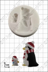 penguins silicone mould 1kpx