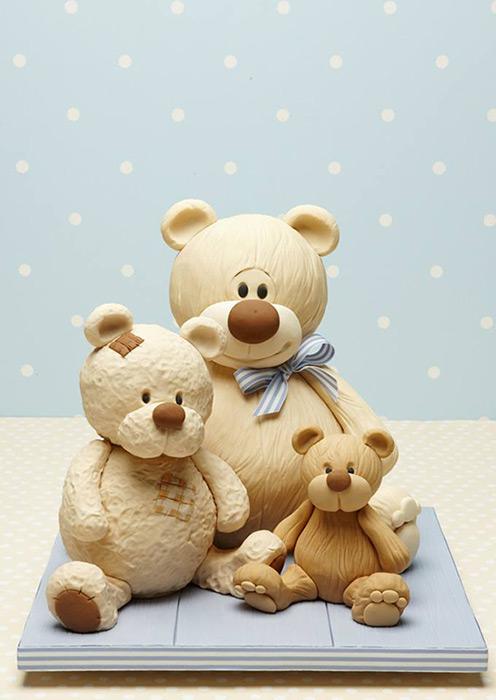 Bear Cake by Debbie Brown